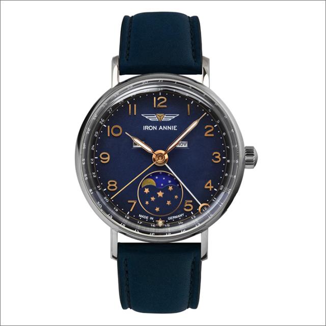 アイアンアニー IRON ANNIE 腕時計 5977-4QZ アマゾナス クォーツ ムーンフェイズ レディース レザーベルト