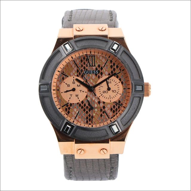 ゲス GUESS 腕時計 W0289L4 クォーツ レザーベルト