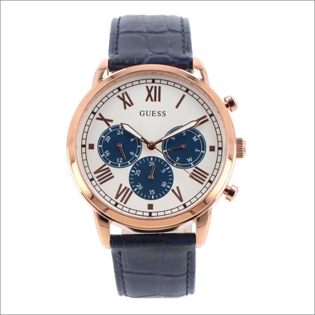 ゲス GUESS 腕時計 W1261G4 クォーツ レザーベルト
