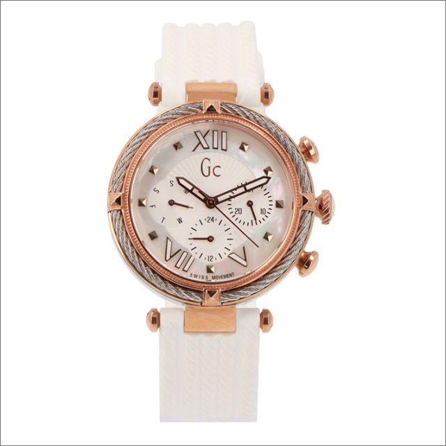 ゲス GUESS 腕時計 GC Y16004L1 クォーツ ラバーベルト
