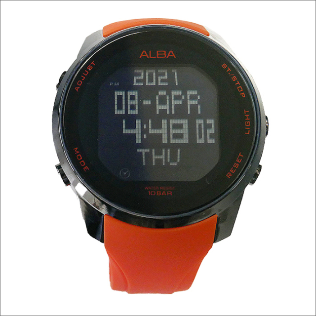 【風防に微細なキズあり アウトレット】セイコー アルバ SEIKO ALBA 腕時計 AQ2017X1 メンズ クォーツ デジタル表示