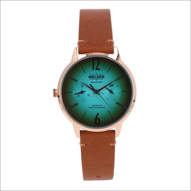 ウェルダー WELDER 腕時計 WWRS112 クォーツ 36mm レザーベルト 日付・曜日表示