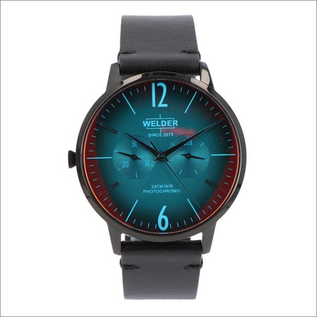 ウェルダー WELDER 腕時計 WWRS307 クォーツ 42mm レザーベルト 日付・曜日表示