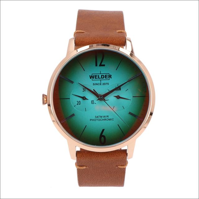 ウェルダー WELDER 腕時計 WWRS312 クォーツ 42mm レザーベルト 日付・曜日表示