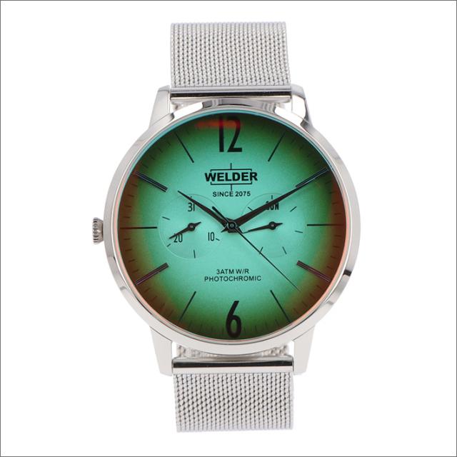 ウェルダー WELDER 腕時計 WWRS400 クォーツ 42mm メッシュメタルベルト 日付・曜日表示