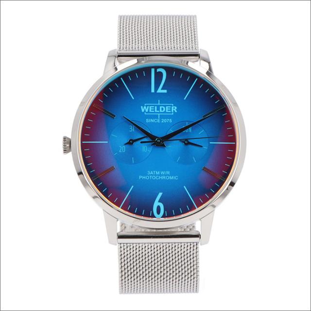 ウェルダー WELDER 腕時計 WWRS403 クォーツ 42mm メッシュメタルベルト 日付・曜日表示