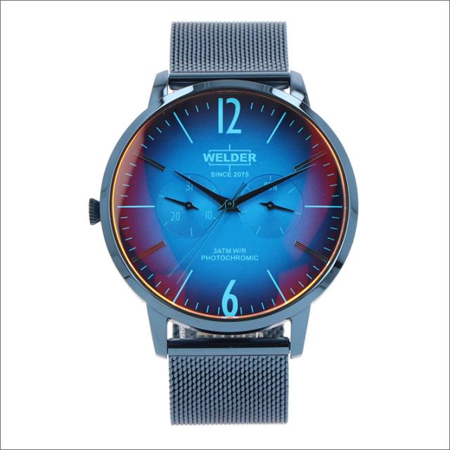ウェルダー WELDER 腕時計 WWRS414 クォーツ 42mm メッシュメタルベルト 日付・曜日表示
