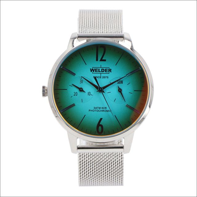 ウェルダー WELDER 腕時計 WWRS614 クォーツ 36mm メッシュメタルベルト 日付・曜日表示