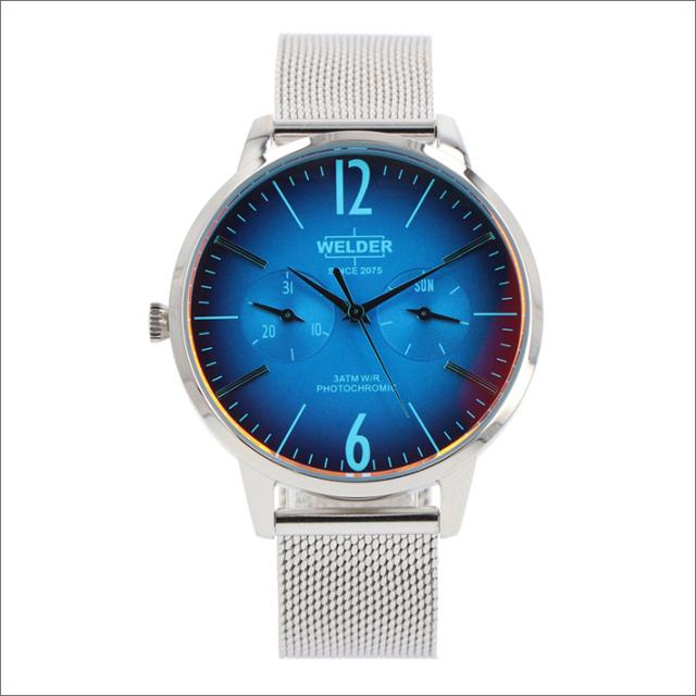 ウェルダー WELDER 腕時計 WWRS615 クォーツ 36mm メッシュメタルベルト 日付・曜日表示