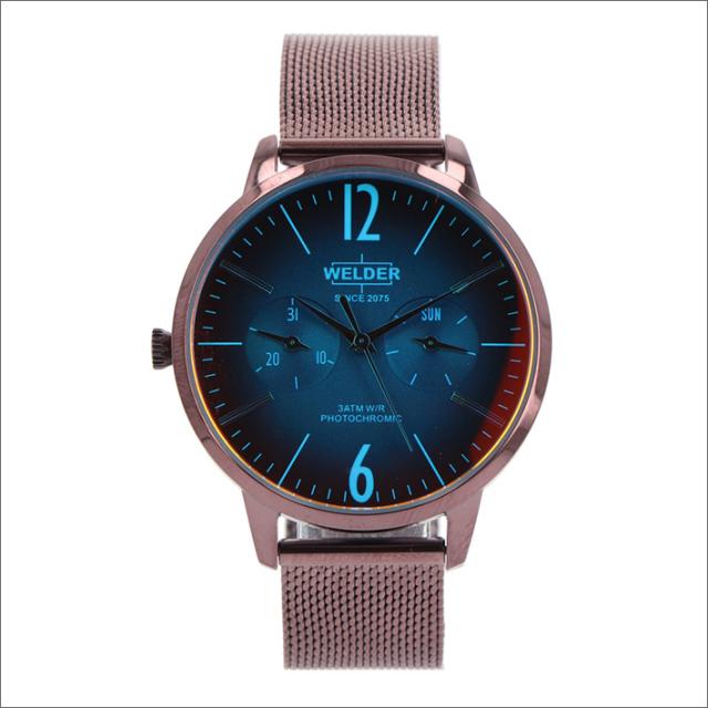 ウェルダー WELDER 腕時計 WWRS626 クォーツ 36mm メッシュメタルベルト 日付・曜日表示