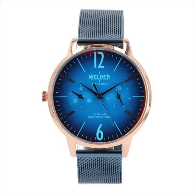 ウェルダー WELDER 腕時計 WWRS631 クォーツ 36mm メッシュメタルベルト 日付・曜日表示