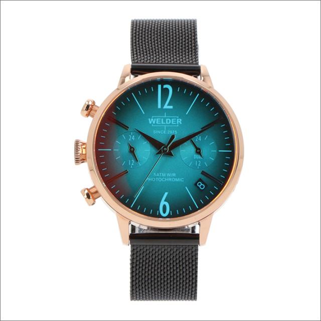 ウェルダー WELDER 腕時計 WWRC726 クォーツ 36mm メッシュメタルベルト 日付・デュアルタイム表示