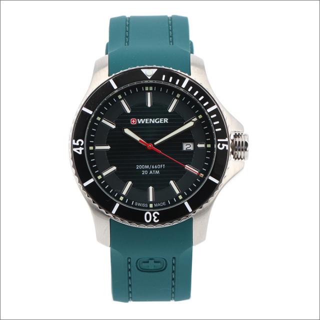 ウェンガー WENGER 腕時計 01.0641.128 シーフォース シリコンラバーベルト メンズ