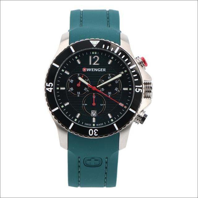 ウェンガー WENGER 腕時計 01.0643.114 シーフォース シリコンラバーベルト メンズ
