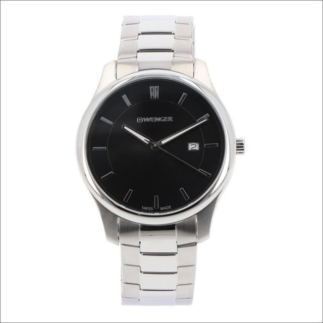 ウェンガー WENGER 腕時計 01.1441.104 シティクラシック メタルベルト メンズ