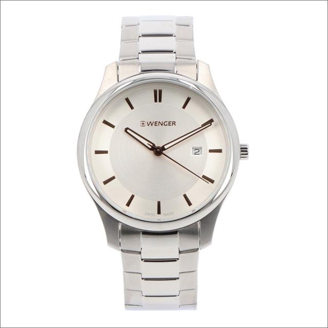 ウェンガー WENGER 腕時計 01.1441.105 シティクラシック メタルベルト メンズ