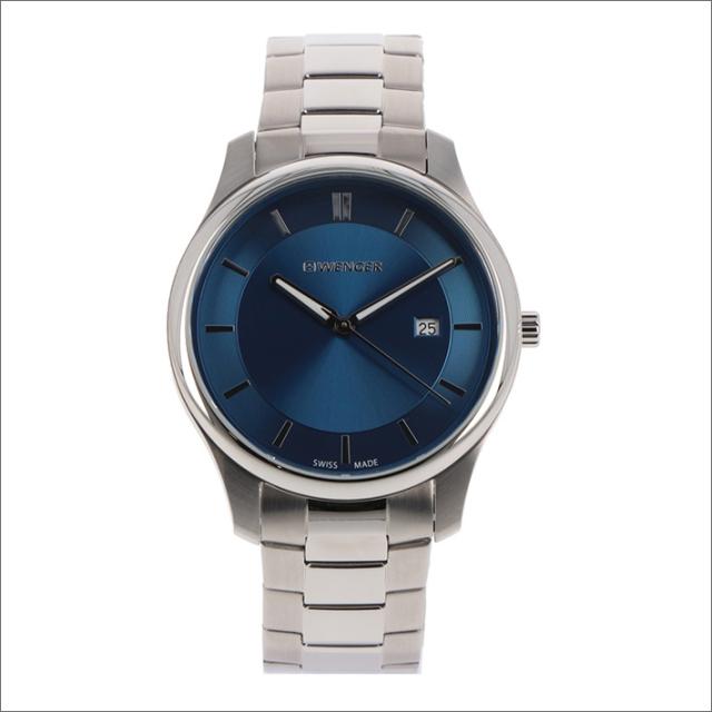 ウェンガー WENGER 腕時計 01.1441.117 シティクラシック メタルベルト メンズ
