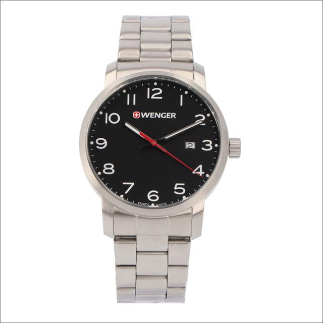 ウェンガー WENGER 腕時計 01.1641.102 アヴェニュー メタルベルト メンズ