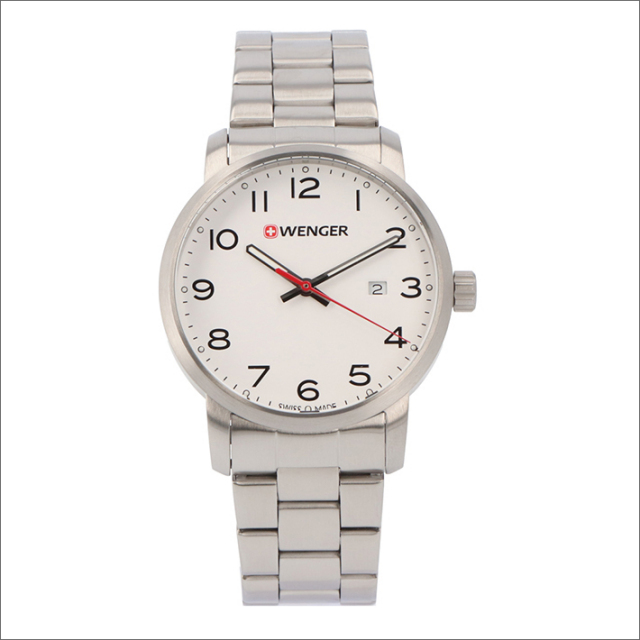 ウェンガー WENGER 腕時計 01.1641.104 アヴェニュー メタルベルト メンズ