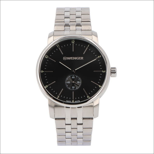 ウェンガー WENGER 腕時計 01.1741.105 アーバンクラシック メタルベルト メンズ