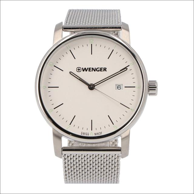 ウェンガー WENGER 腕時計 01.1741.113 アーバンクラシック メッシュメタルベルト メンズ
