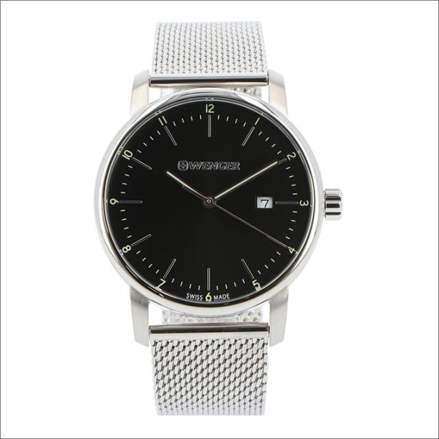 ウェンガー WENGER 腕時計 01.1741.114 アーバンクラシック メッシュメタルベルト メンズ