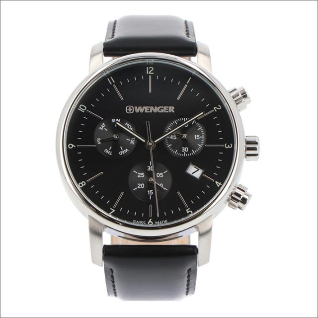 ウェンガー WENGER 腕時計 01.1743.102 アーバンクラシック レザーベルト メンズ