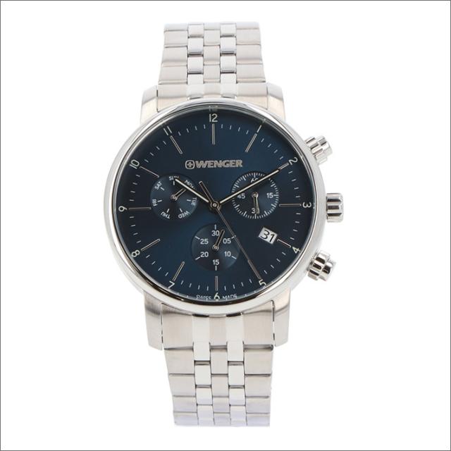 ウェンガー WENGER 腕時計 01.1743.105 アーバンクラシック メタルベルト メンズ