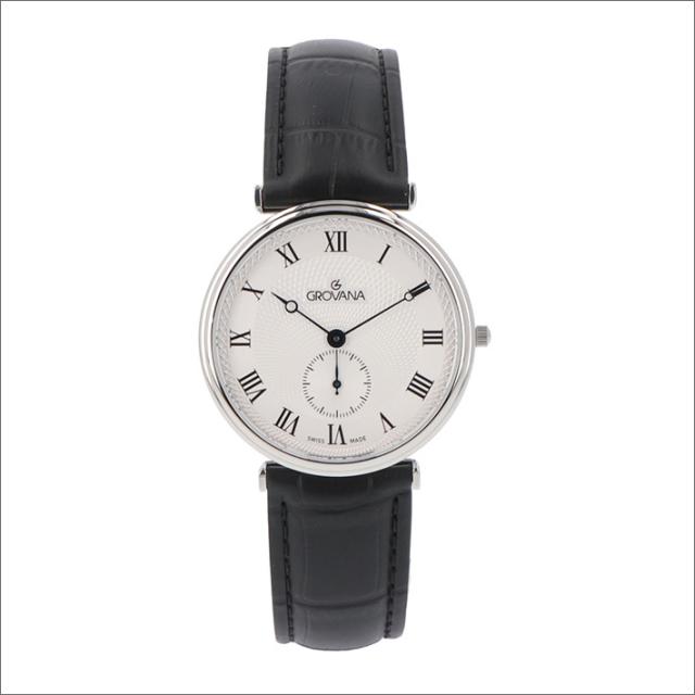 グロバナ GROVANA 腕時計 1276.5538 38mm クォーツ スモールセコンド レザーベルト
