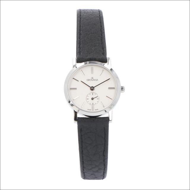 グロバナ GROVANA 腕時計 3050.1532 26mm クォーツ スモールセコンド レザーベルト