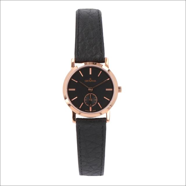 グロバナ GROVANA 腕時計 3050.1567 26mm クォーツ スモールセコンド レザーベルト