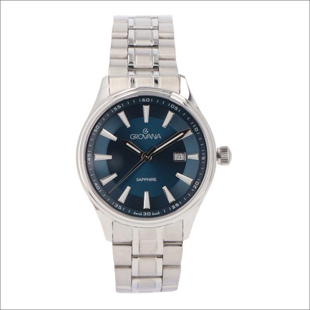 グロバナ GROVANA 腕時計 3194.1135 32mm クォーツ カレンダー メタルベルト