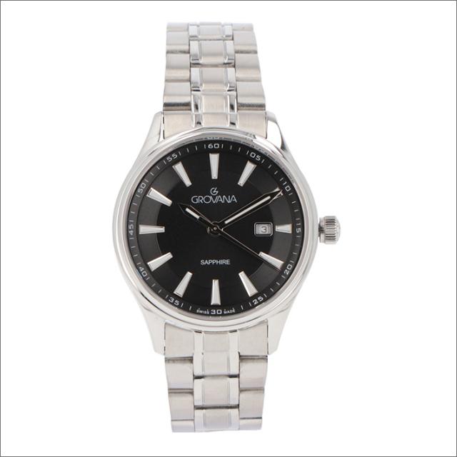 グロバナ GROVANA 腕時計 3194.1137 32mm クォーツ カレンダー メタルベルト