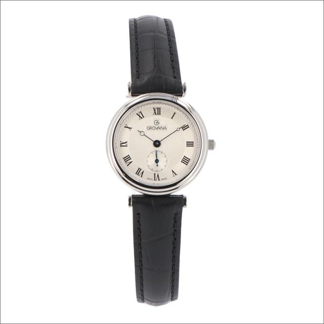グロバナ GROVANA 腕時計 3276.1538 29mm クォーツ スモールセコンド レザーベルト