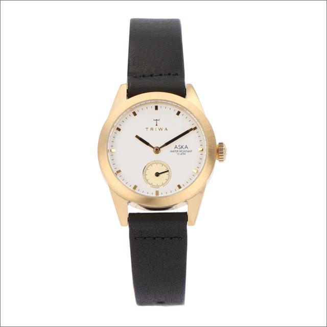 トリワ TRIWA 腕時計 AKST101-SS010113 クォーツ 32mm IVORY AKSA BLACK CLASSIC