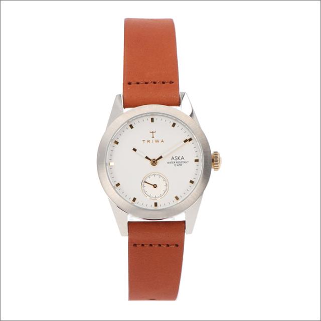 トリワ TRIWA 腕時計 AKST102-SS010213 クォーツ 32mm SNOW ASKA BROWN CLASSIC