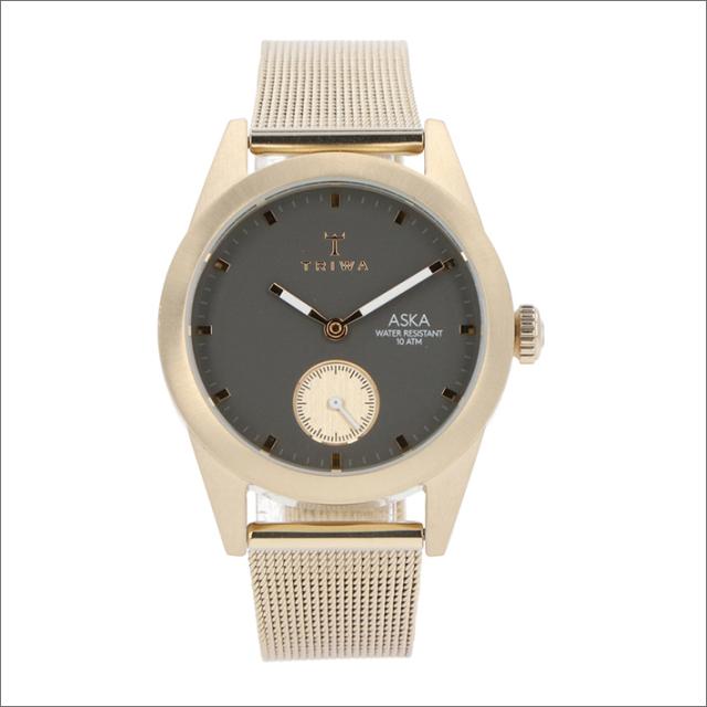 トリワ TRIWA 腕時計 AKST103-MS121717 クォーツ 32mm ASH ASKA CHAMPAGNE MESH