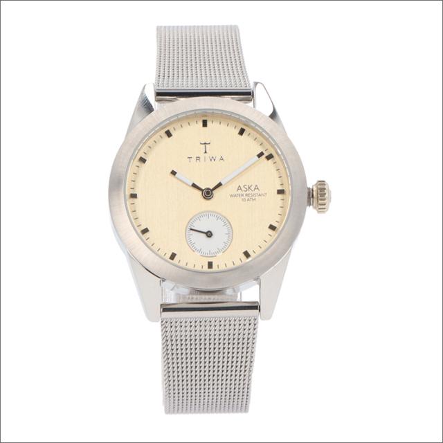 トリワ TRIWA 腕時計 AKST104-MS121212 クォーツ 32mm BIRCH ASKA SILVER MESH SUPER SLIM