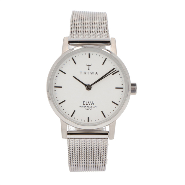 トリワ TRIWA 腕時計 ELST101-EM021212 クォーツ 28mm PEARL ELVA STEEL MESH