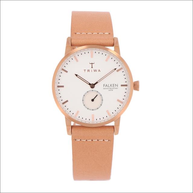 トリワ TRIWA 腕時計 FAST101-CL010614 クォーツ 38mm ROSE FALKEN TAN CLASSIC
