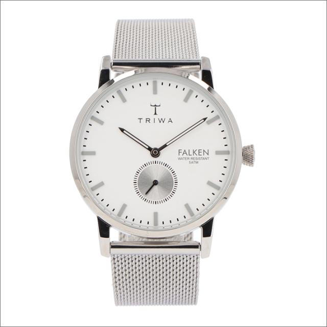 トリワ TRIWA 腕時計 FAST103-ME021212 クォーツ 38mm IVORY FALKEN STEEL MESH