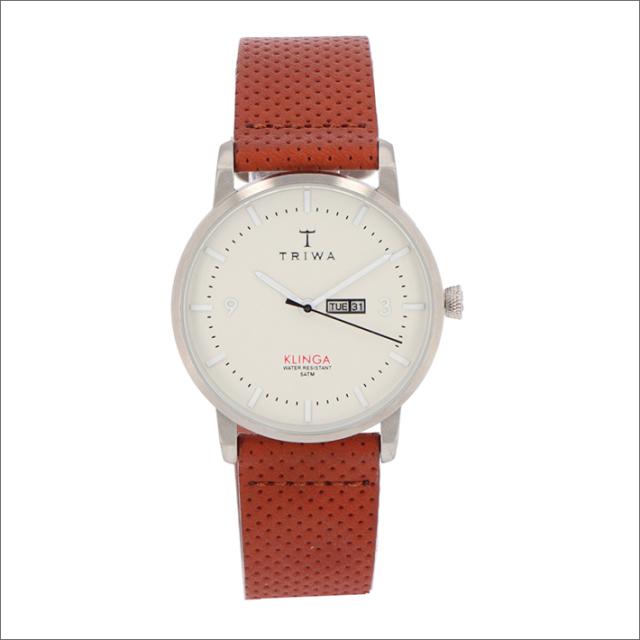 トリワ TRIWA 腕時計 KLST101-CD010212 クォーツ 38mm DAWN KLINGA BROWN DOTS CLASSIC