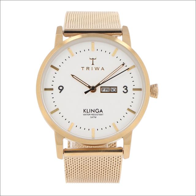 トリワ TRIWA 腕時計 KLST103-ME021313 クォーツ 38mm IVORY KLINGA GOLD MESH