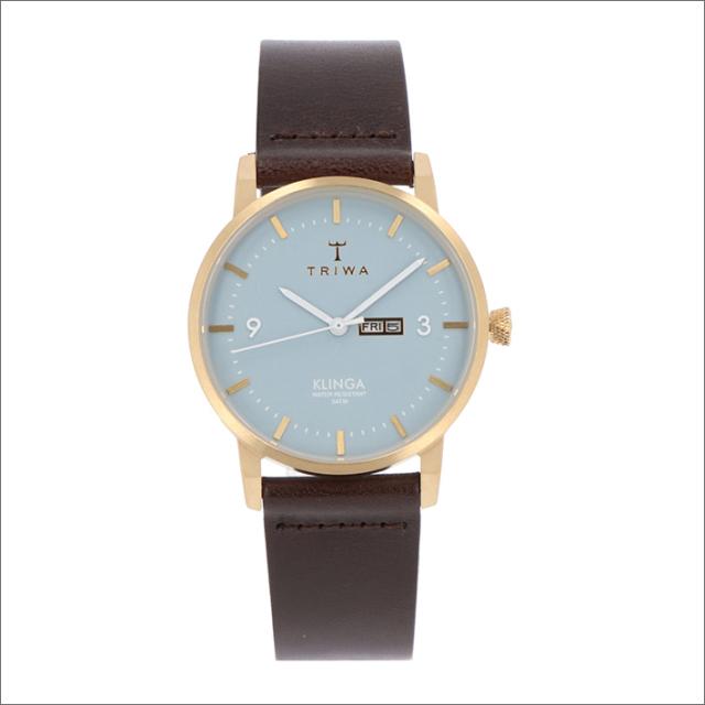 トリワ TRIWA 腕時計 KLST106-CL010413 クォーツ 38mm ARCTIC KLINGA DARK BROWN CLASSIC