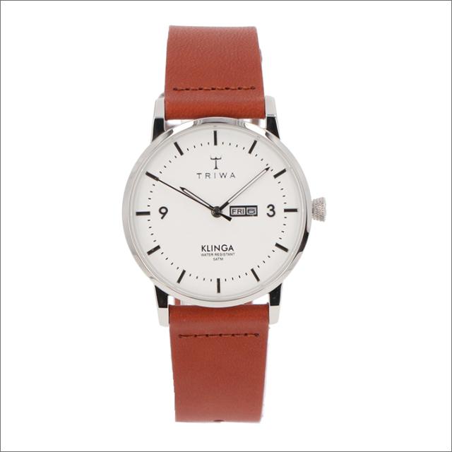 トリワ TRIWA 腕時計 KLST109-CL010212 クォーツ 38mm SNOW KLINGA BROWN CLASSIC
