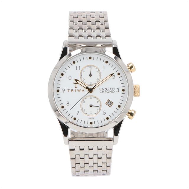 トリワ TRIWA 腕時計 LCST106-BR021212 クォーツ 38mm IVORY LANSEN CHRONO STEEL BRACE