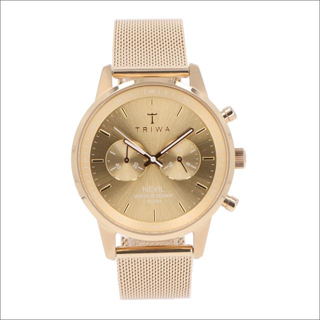 トリワ TRIWA 腕時計 NEST104:2-ME021313 クォーツ 42mm GOLD NEVIL 2.0 GOLD MESH