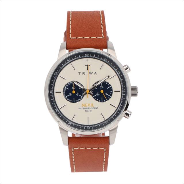 トリワ TRIWA 腕時計 NEST113-SC010215 クォーツ 42mm OCEAN NEVIL BROWN SEWN CLASSIC 2