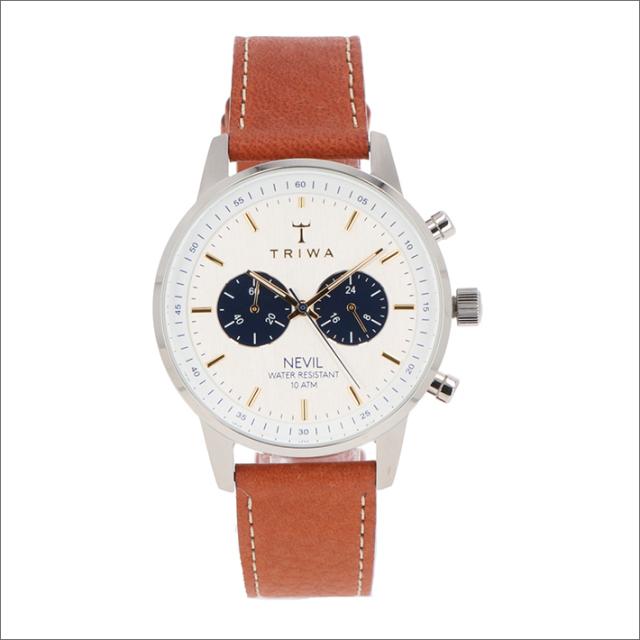 トリワ TRIWA 腕時計 NEST116-TS010212 クォーツ 42mm LOCH NEVIL TUMBLED BROWN SEWN CLASSIC 2