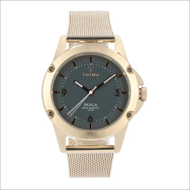 トリワ TRIWA 腕時計 SKST109-MS021717 クォーツ 36mm CLAY SKALA CHAMPAGNE SLIM MESH